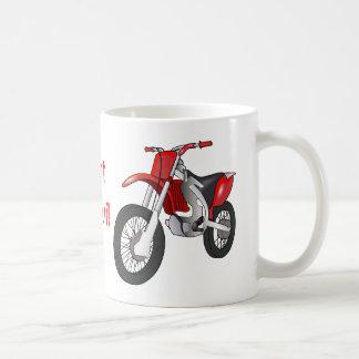 土のモーターバイクのコーヒー・マグ コーヒーマグカップ