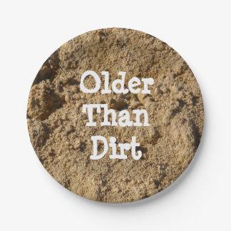 土の紙皿より古い ペーパープレート