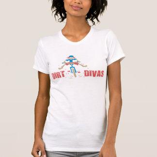 土の花型女性歌手のTシャツ Tシャツ