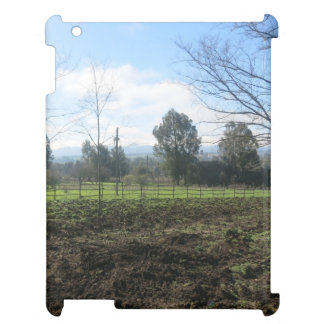 土は景色を投げました iPad カバー