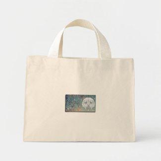 土佐犬(Japanese Mastiff)&桜(日本国新潟県湯沢町)  トートバッグ トートバッグ