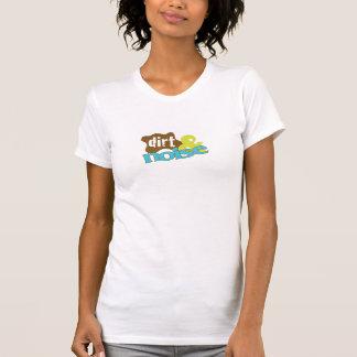 土及び騒音の女性のTシャツ Tシャツ