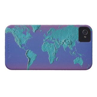 土地の多くの地図 Case-Mate iPhone 4 ケース
