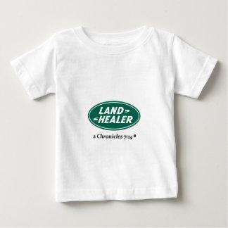 土地の治療師: ランドローバーのパロディ ベビーTシャツ