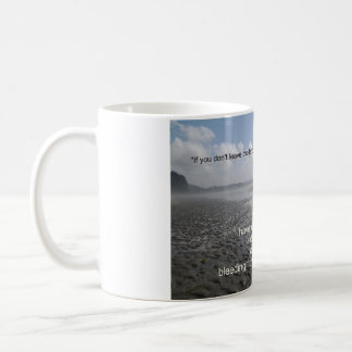 土地を去って下さい コーヒーマグカップ