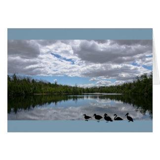 土地、水および空 カード