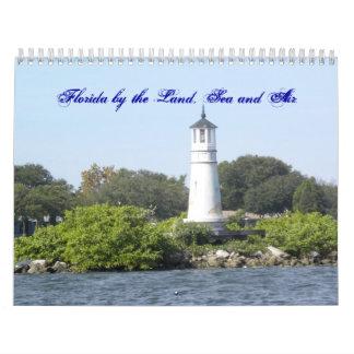 土地、海および空気によるフロリダ カレンダー