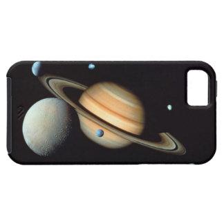 土星および衛星 iPhone SE/5/5s ケース