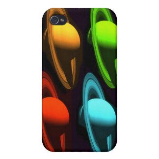 土星のコラージュ iPhone 4 COVER