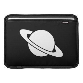土星のピクトグラムのMacBookの空気袖 MacBook スリーブ