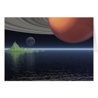 土星の反射 カード