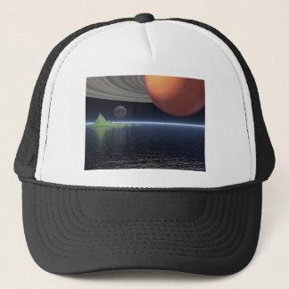 土星の反射 キャップ