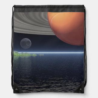 土星の反射 ナップサック