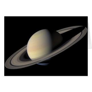 土星の最も素晴らしいポートレート カード