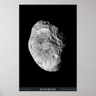 土星の月Hyperion ポスター