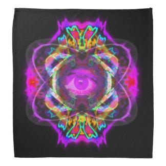 土星の紫色の目 バンダナ