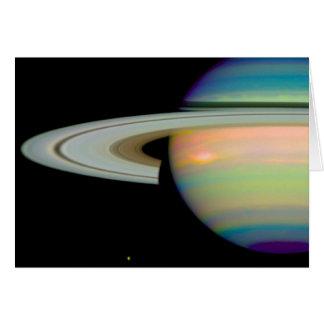 土星の色 カード