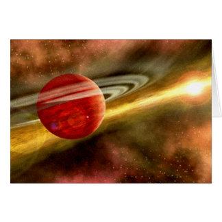 土星の誕生 カード
