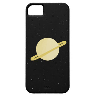 土星のiphone 5の場合 iPhone SE/5/5s ケース