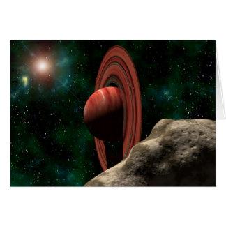 土星は惑星を好みます カード