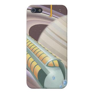 土星への宇宙旅行ポスター iPhone 5 カバー