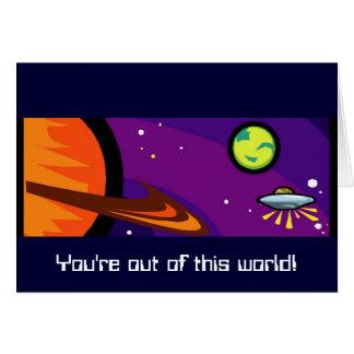 土星への宇宙船 カード