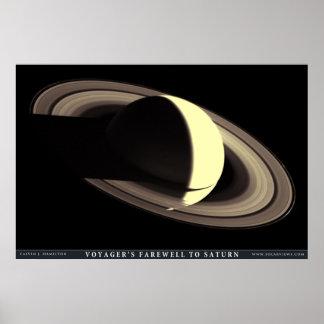 土星への航海者の告別 ポスター