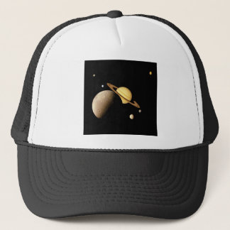 土星システムモンタージュ(太陽系)の~ キャップ