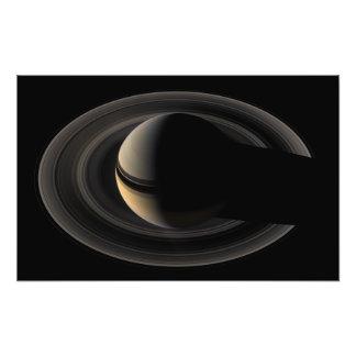土星 フォトプリント