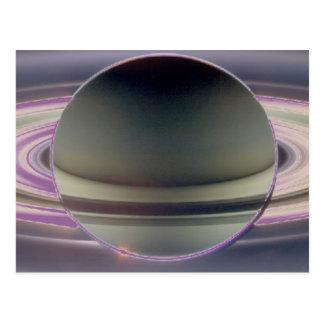 土星 ポストカード