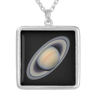 土星|太陽の|システム|惑星|魅力|ネックレス オリジナルジュエリー