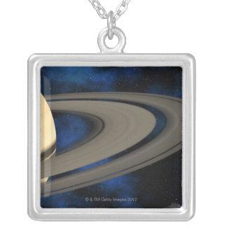 土星|惑星|2 オリジナルネックレス