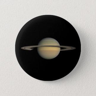 土星 5.7CM 丸型バッジ