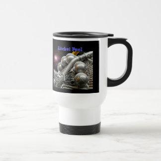 土星Vロケットエンジンのマグ トラベルマグ