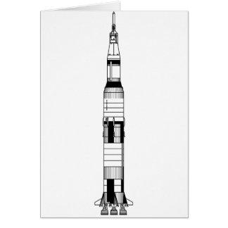 土星Vロケット カード