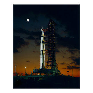 土星Vロケット ポスター