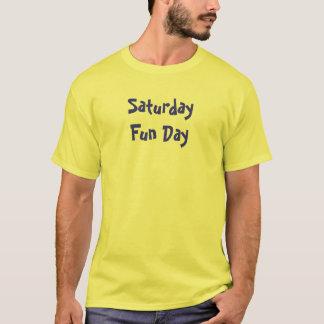 土曜日のおもしろい日 Tシャツ