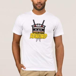 土曜日の朝のリワインド(漫画のポッドキャストか場所) Tシャツ
