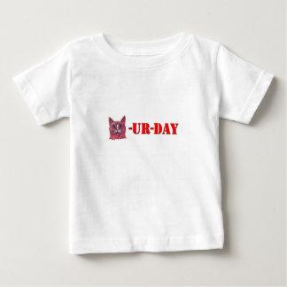 土曜日はCaturdayです ベビーTシャツ