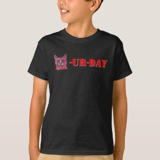 土曜日はCaturdayです Tシャツ
