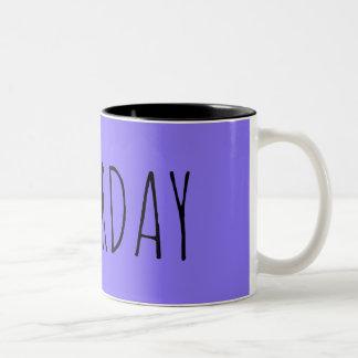 土曜日 ツートーンマグカップ