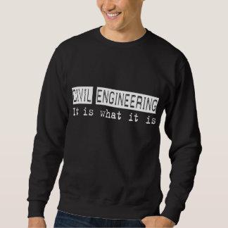 土木技師それはあります スウェットシャツ