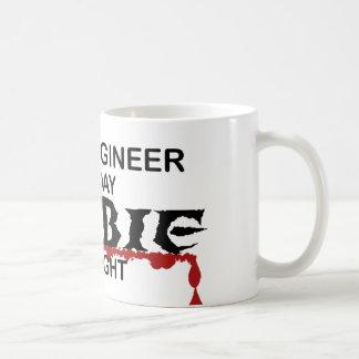 土木技師のゾンビ コーヒーマグカップ