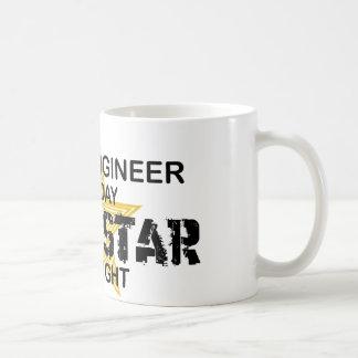 土木技師のロックスター コーヒーマグカップ