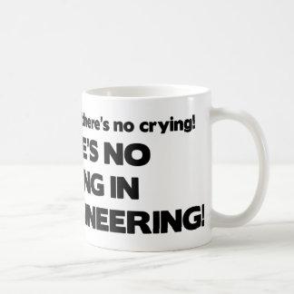 土木技師の泣き叫び無し コーヒーマグカップ