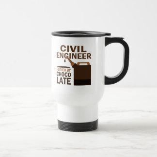 土木技師の(おもしろいな)チョコレート トラベルマグ