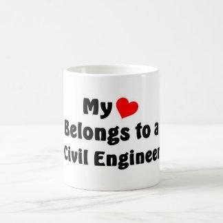 土木技師 コーヒーマグカップ