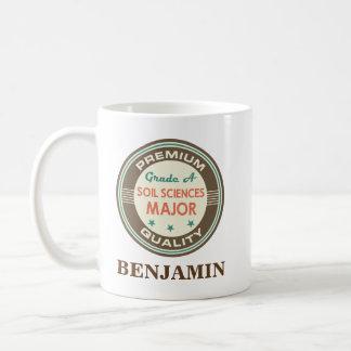 土科学の専攻学生名前入りなマグのギフト コーヒーマグカップ