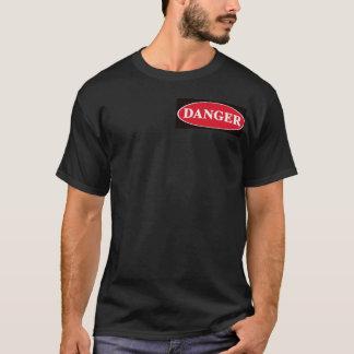 圧縮されたガスのTシャツ Tシャツ