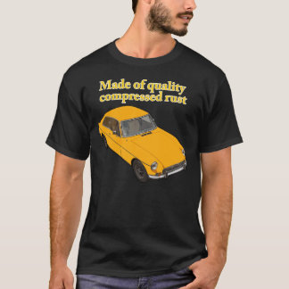 圧縮された錆 Tシャツ